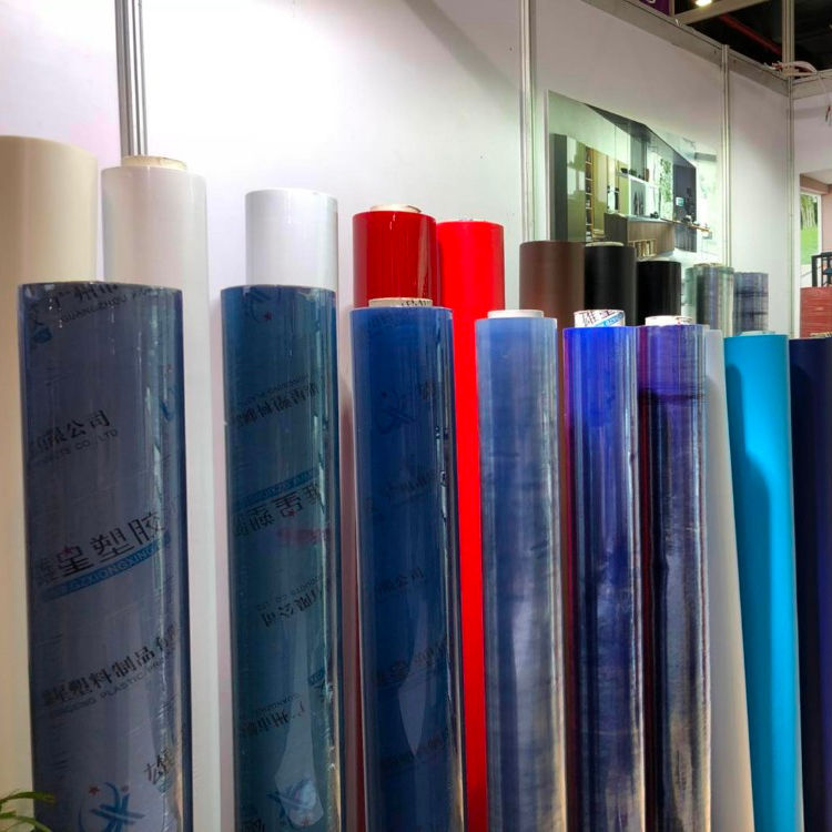 2021 popular Factory price non-sticky clear vinly pvc plastic film super clear pvc film