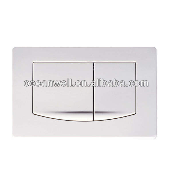 Bathroom Toilet Dual Flush Plate for Concealed Cistern made in China