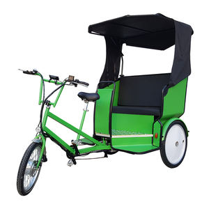 Long Warranty Customized 48v 20ah Electric Pedal Assist Cycle Pedicab Rickshaw Three Wheel Bicycle