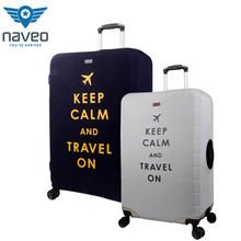 Wholesale waterproof Suitcase travel protector elastic Protection Spandex Dust Custom Luggage Cover