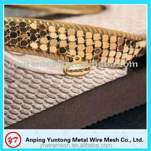 metall pailletten goldenen mesh für dekoration
