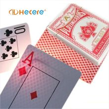 RFID Plastic Poker Playing Cards finish