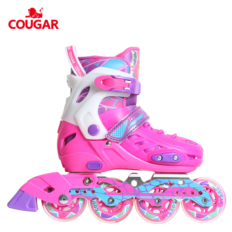 Guangzhou kids shoes factory provide carbon frame inline skate sport shoes