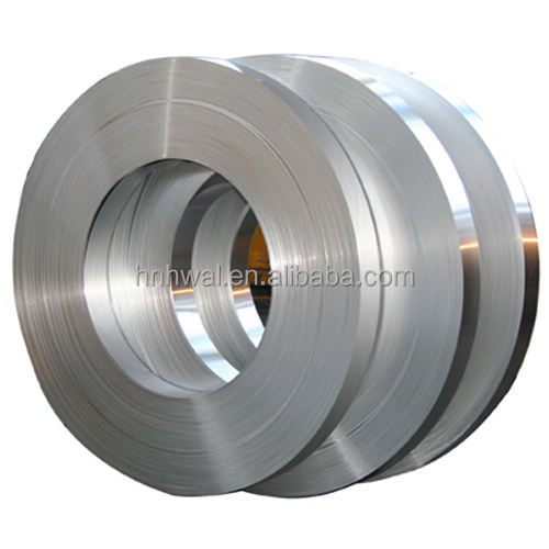 Chamfered Aluminum coil strip for transformer winding