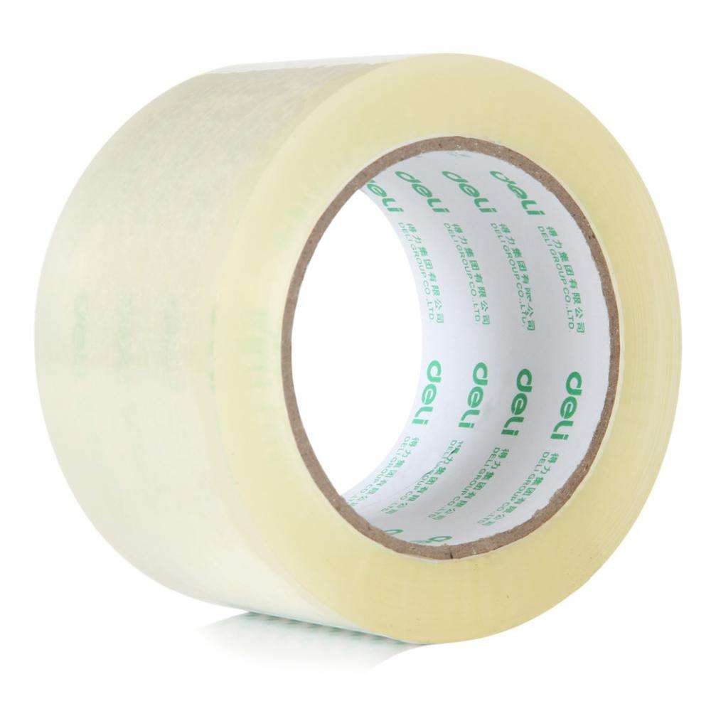 Clear Adhesive Tape Roll BOPP Transparent Packing Tape with Custom