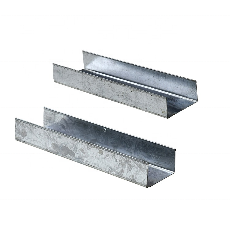 free samples galvanized steel profile furring metal track for darywall
