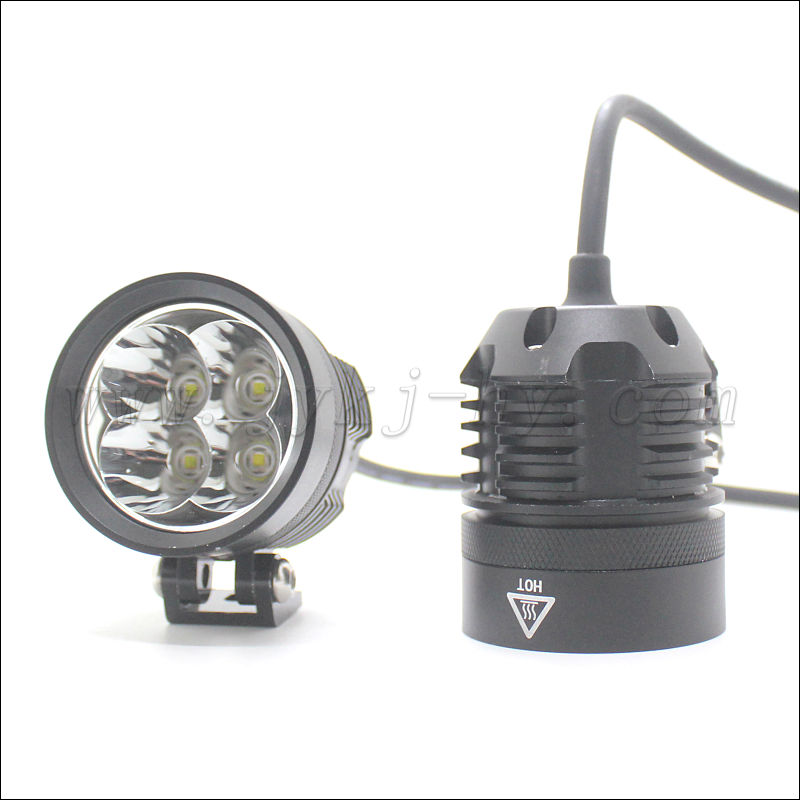 New form XHP50 4200lms 40w L4X led motorcycle lamp with XHP50/XPL chip