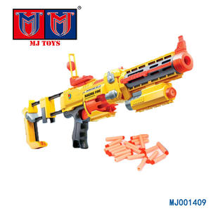 wholesale plastic big size soft bullet electric toy gun for boys