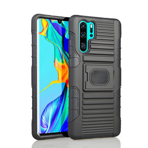 Wholesale tpu pc hybrid holster for Samsung NOTE 10 plus china kickstand 2 pieces mobile smart phone case cover for iPhone 11