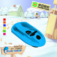 2012 plastic kids winter snow sled ZY-70801