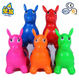 Custom accepted wholesale cute for children gift toys inflatable pvc animal
