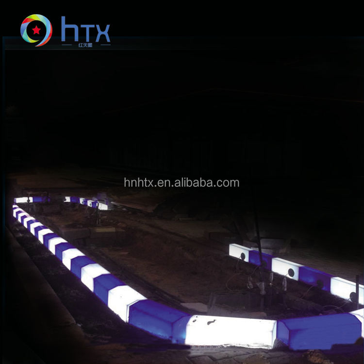 2017 New Design Plastic Led Waterproof Lights Curbstone For Qatar