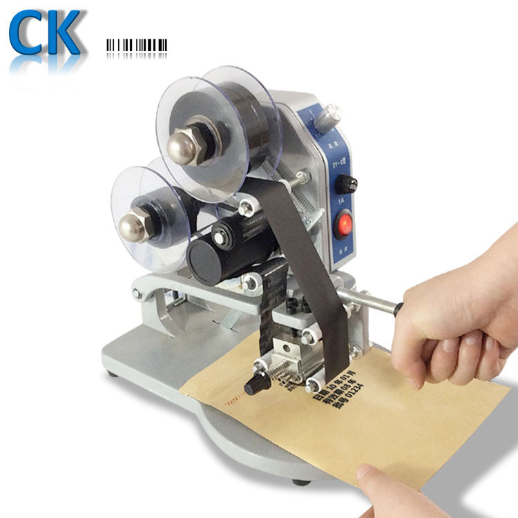 Coditeck DY8 manual hot stamping batch coding machine