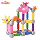 60 pcs Creative DIY Magnetic Sticks & Balls Playground Toy Children's Plastic Construction Flower Aircraft Toy Sets Gift