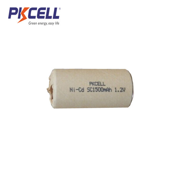 High discharge ratet of 1.2V SC1500mAh 10C Ni Cd Rechargeable Battery for Power tool