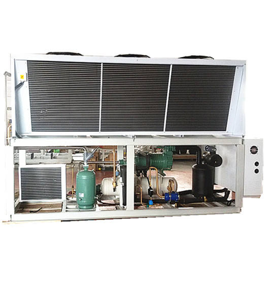 Factory manufacturing industrial water cooled chiller condensing unit