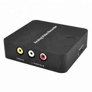 Analog RCA Video Yakalama Kaydedici MicroSD Eski VHS Video Dönüştürmek için bant Dijital HDMI Formatında Kameralar için