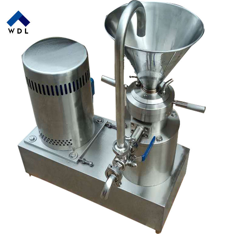 Cacao Beans Making Colloid Equipment Peanut Butter Mill Grinder Processing Liquid Cocoa Bean Grinding Machine