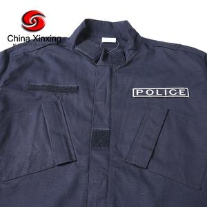 XINXING Navy Blue Military Tactical Uniform Army Combat Uniform ACU for Police Outdoor Activity