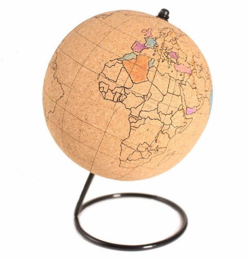 Wholesale Cork Rotating Educational Globe Map for Geographic Teaching Marking Memo