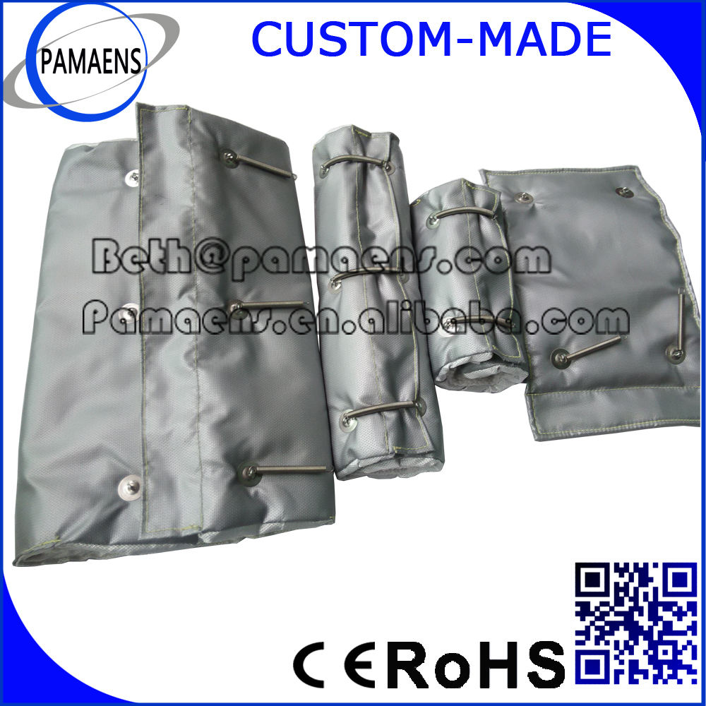 High Quality Reusable and Removable Exhaust Pipe Blanket Insulation Cover