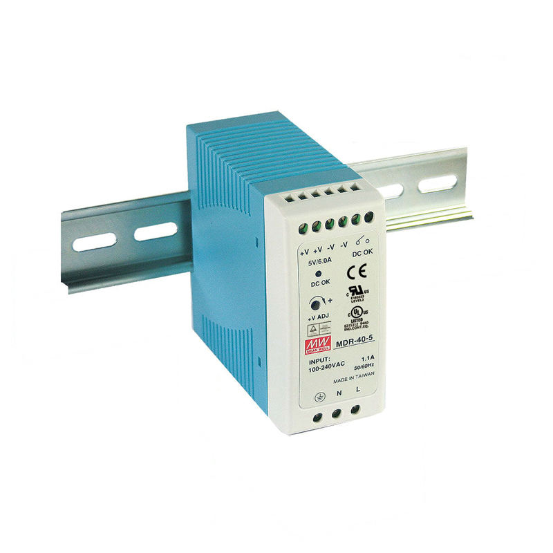 Nah berarti 220 v ac ke 12 v dc power supply MDR-40-12 40 W LED power supply Keluaran Tunggal DIN RAIL