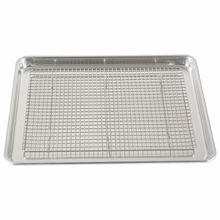 Kitchenware Custom-made Oven Safe Roasting Stainless Steel Baking Cake Bread Half Sheet Pan Cooling Rack