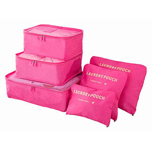 Eco-friendly clothing travel storage bags high quality large capacity portable packing cubes