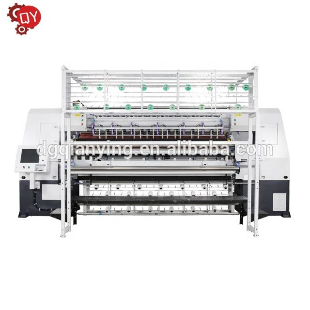 High-speed Computerized Kette Stich Multi-nadel Quilten Maschine Matratze Abdeckung Maschine