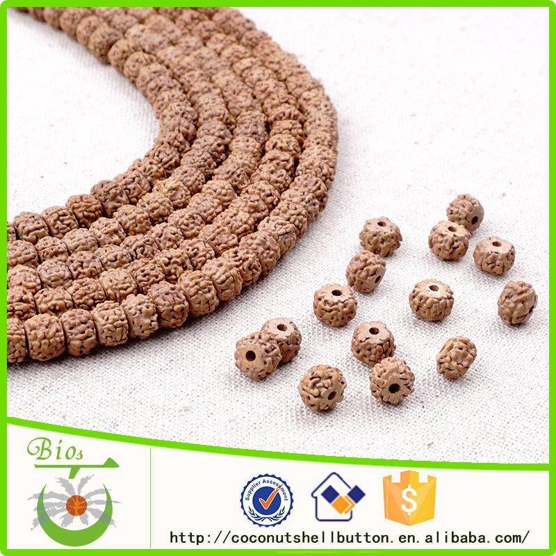 Échantillon gratuit rudraksha naturelle tibet perles gros