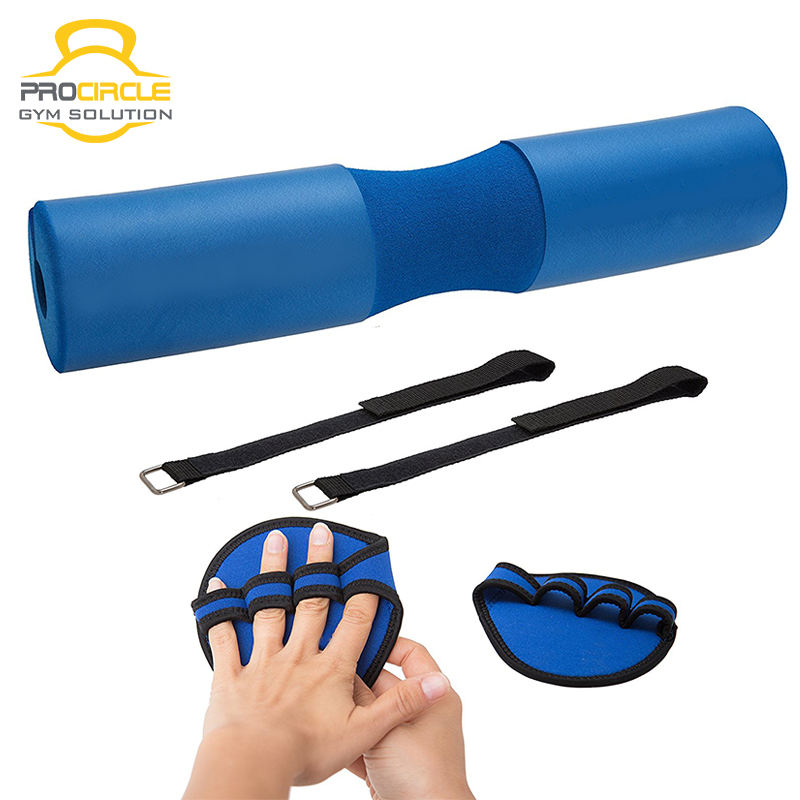 Weight Lifting Barbell Pad Squat Pad With Strap