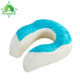 Neck Support Memory Foam Travel Pillow With Cooling Gel, Perfect for Traveling Gel Travel Pillow