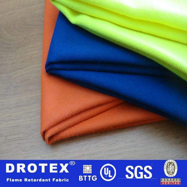 Fluorescente. nomex fr tissu de coton conducteur. anti- grille statique uniforme