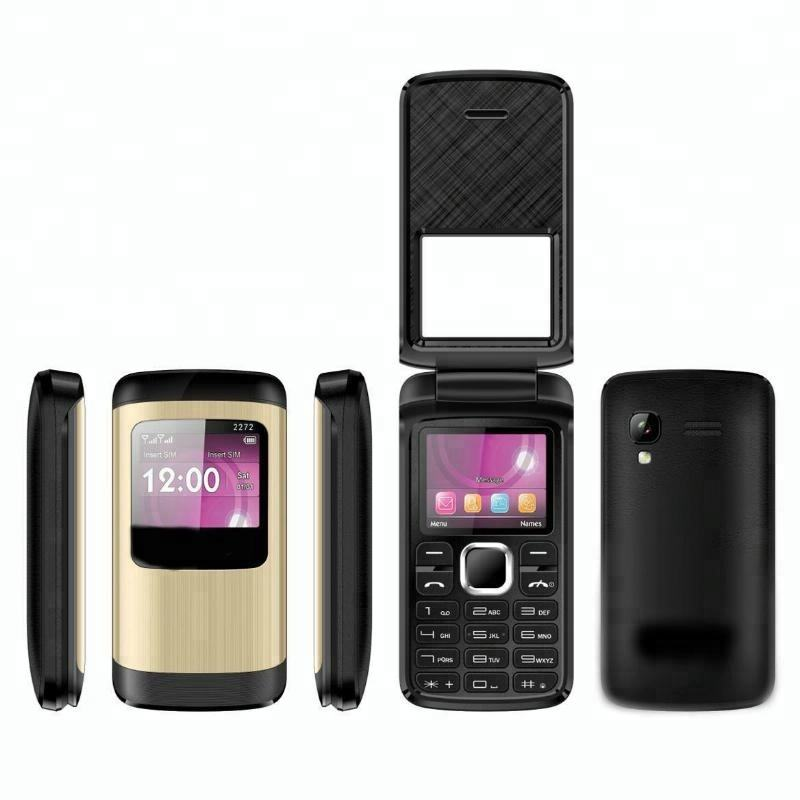 Flip Phone UNLOCKED Dual Sim GSM Radio FM Quad Band Kamera Bluetooth T400