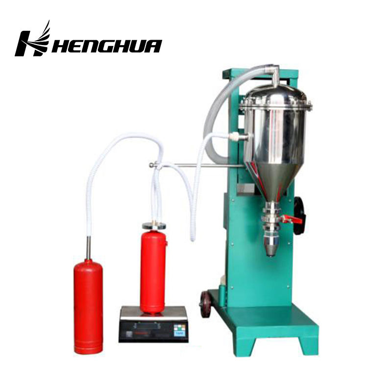 2017 new excellent quality FM UL Approved Carbon dioxide fire extinguisher filling machine