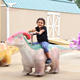 Customized coin operated kiddie rides animal ride