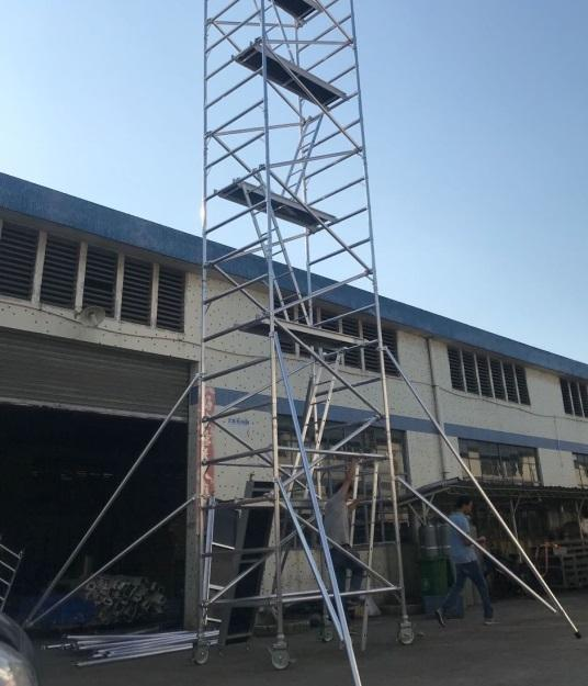 Climb Ladder scaffolding Aluminum Scaffold Tower for sale