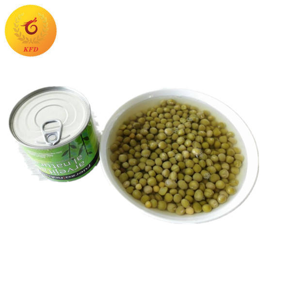 wholesale fresh 340g best canned green peas in brine