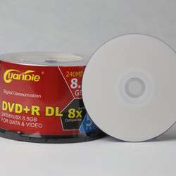 Cheap price high-capacity blank dvd 8.5GB printable DVD+R DL 8.5GB 1-8X