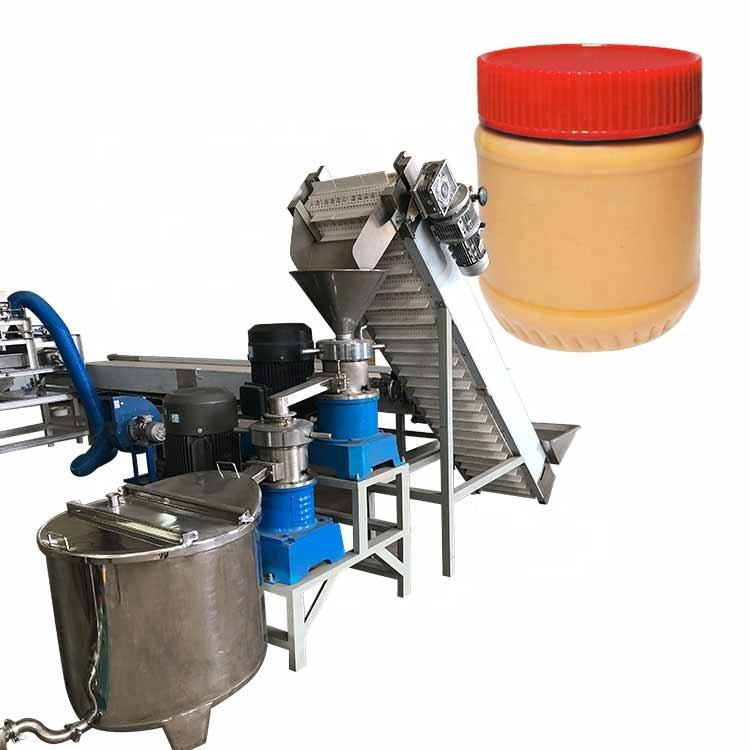 Food processing machinery Peanut Butter Production Line colloid mill machine making peanut butter
