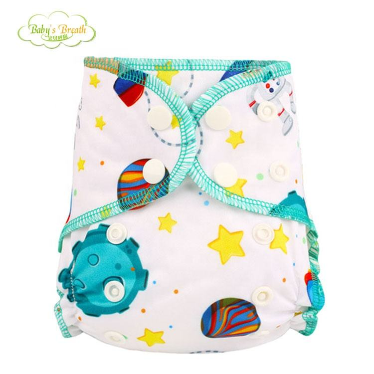 New design cotton cloth diapers cloth diapers alva baby bamboo baby cloth diapers
