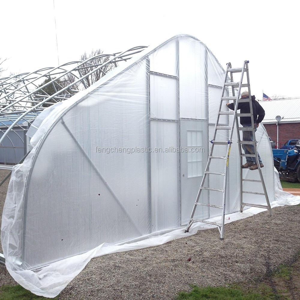 Light Diffusion 200 micron uv resistant plastic film greenhouse,uv stabilized polyethylene greenhouse film