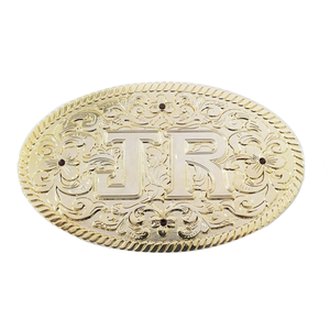 Manufacture make your own logo high quality gold plated metal purple rhinestones belt buckle for men