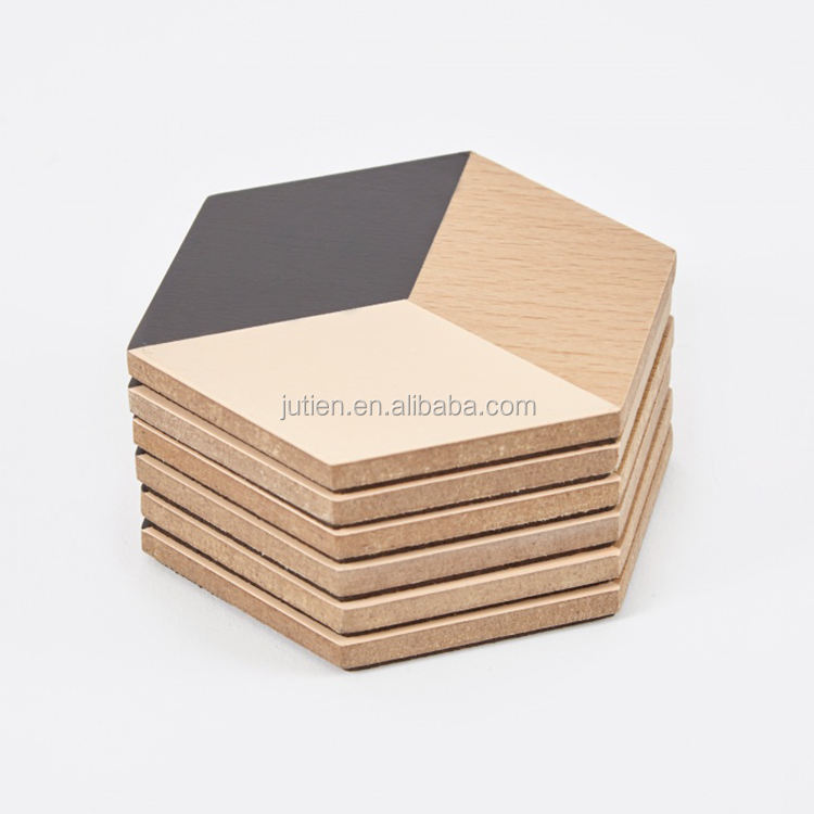 Custom coaster Eco ตาราง Placemat ไม้ถ้วย Custom Cork Coaster