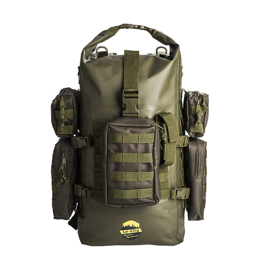 40L 50L 60L Waterproof large capacity army equipment tactical military backpack