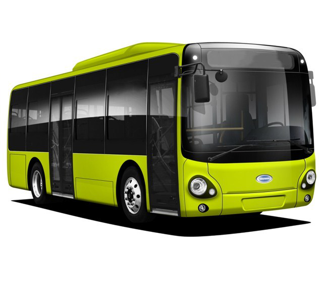 New Pure Electric Company Shuttle Bus New Energy Shuttle Bus electric city bus