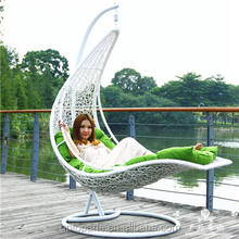 wholesale playground swing set outdoor rattan hanging chair patio swing