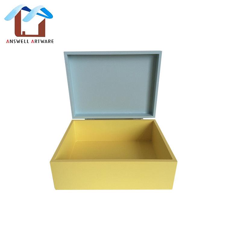 Nouveau design lumineux boîte de rangement en <span class=keywords><strong>bois</strong></span> pour la décoration/git/boîte mod
