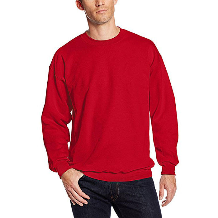 Homme Coton Lourd <span class=keywords><strong>Sweat</strong></span>-Shirt à col rond