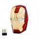 Iron Man cool design 3D wireless computer mouse